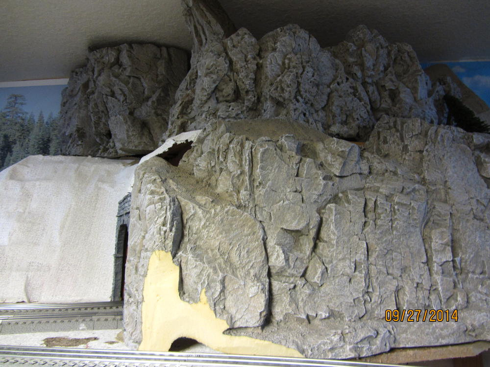 Painting foam board mountains o gauge railroading on line forum