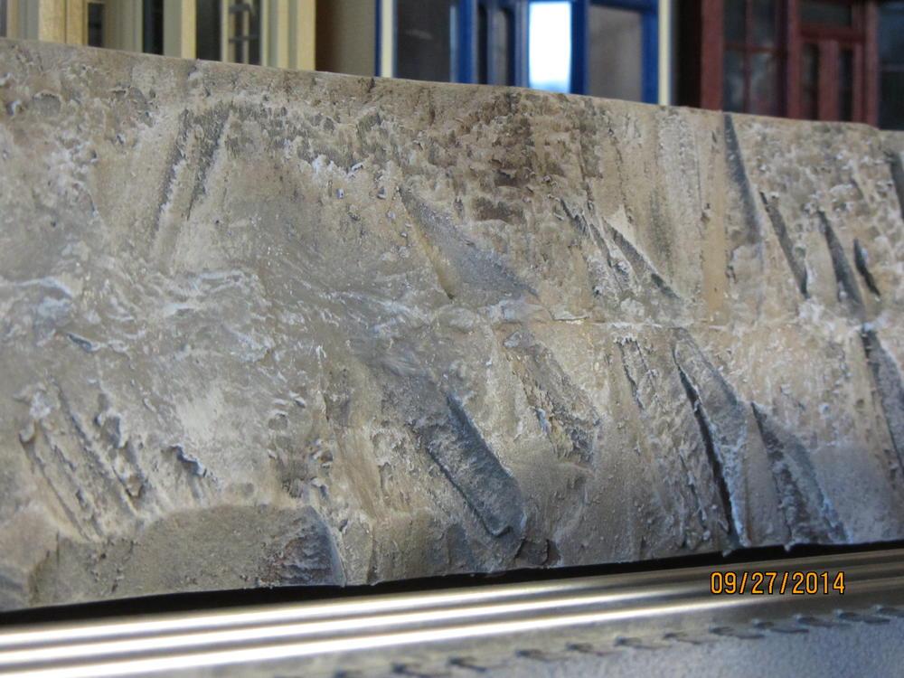 Painting foam board mountains o gauge railroading on