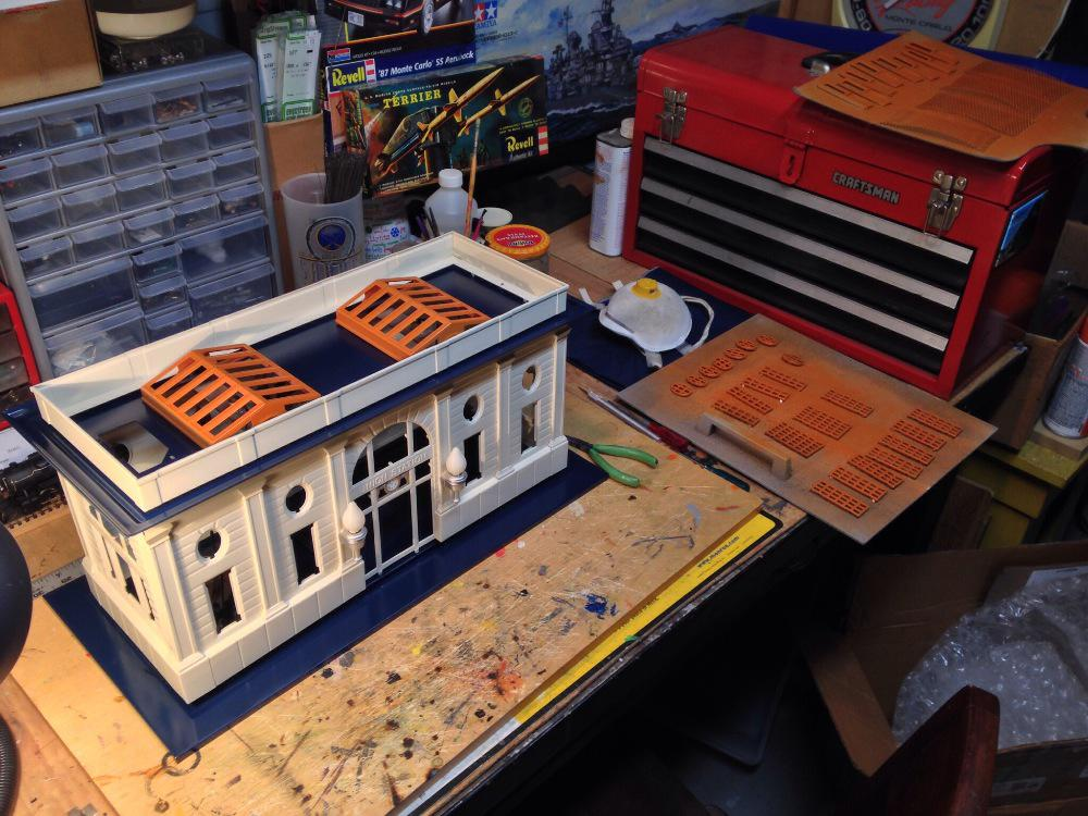 This weekend 39 s project o gauge railroading on line forum for Project weekend