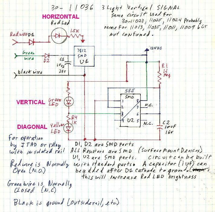 block signal wiring diagram wiring the mth 7-light block signal w/o and itad | o gauge ... 2000 impala turn signal wiring diagram