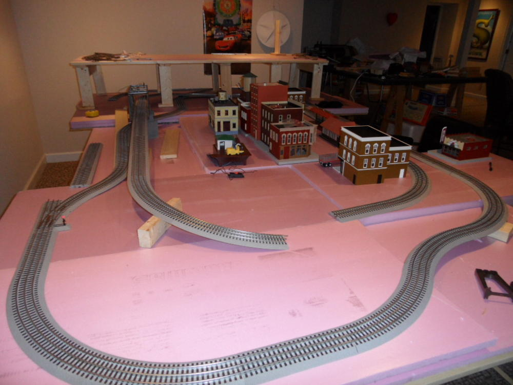 12 x 8 Fastrack layout need help O Gauge Railroading