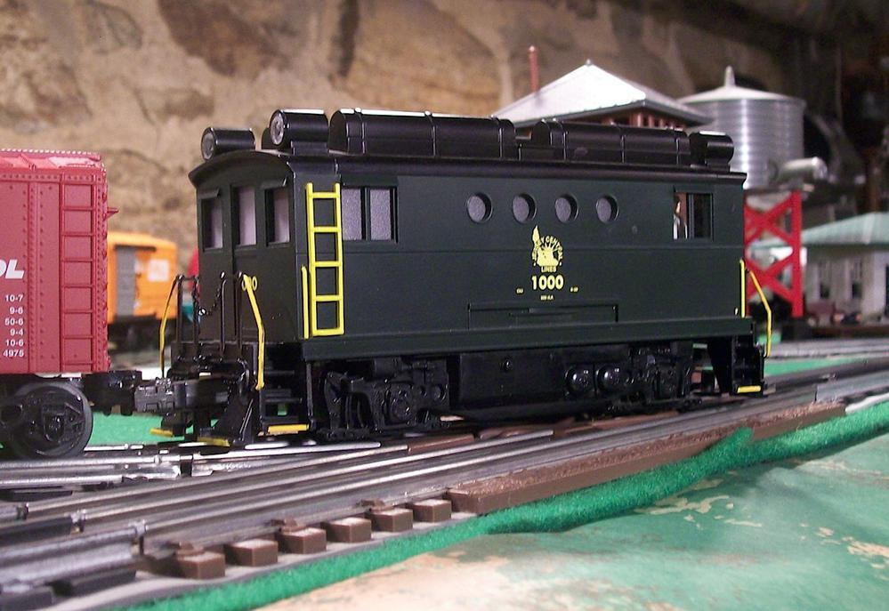Kitbashed A Box Cab Or Steeple Cab Locomotive Lets See