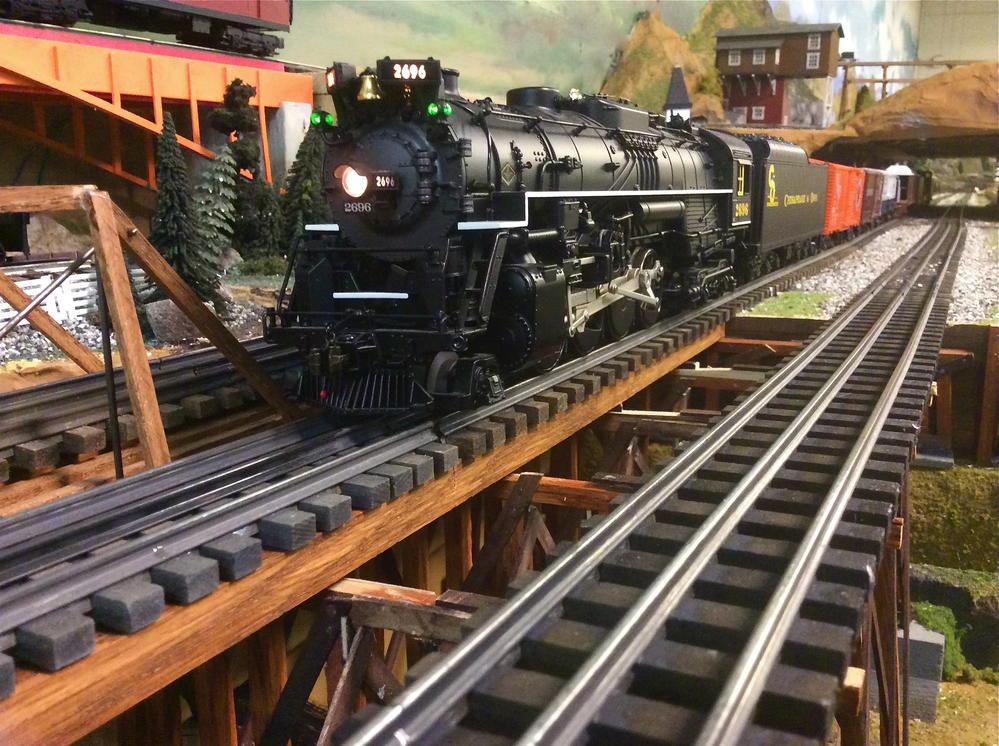 C&O Berk stretches her legs   O Gauge Railroading On Line ...