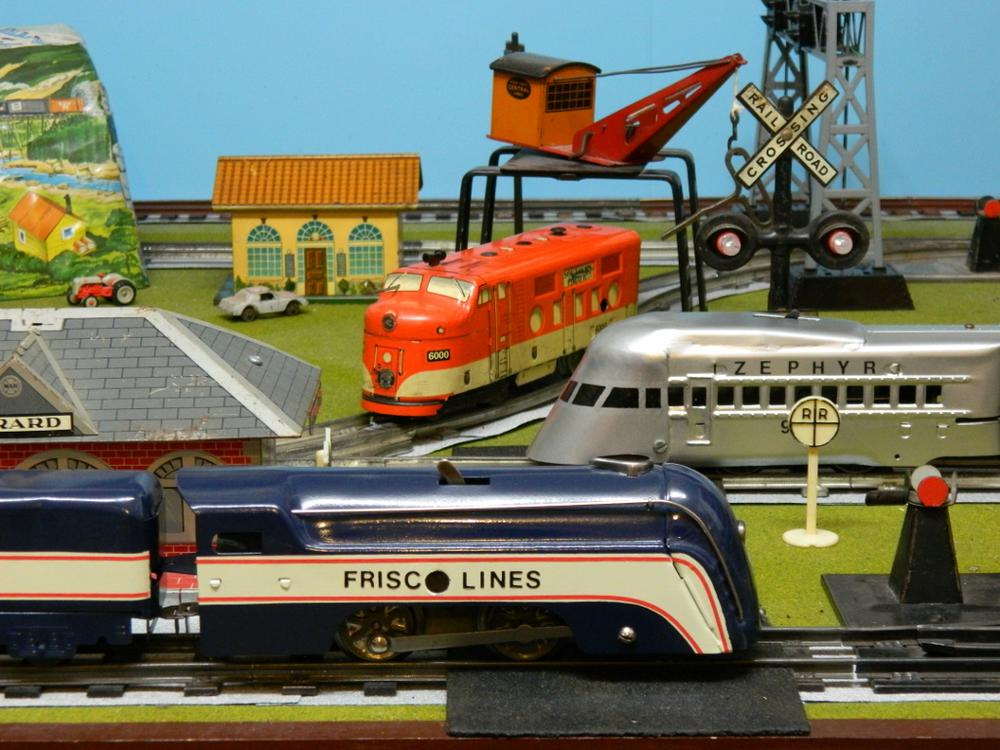Lets See Your Marx Tinplate Locomotive And Cars O Gauge