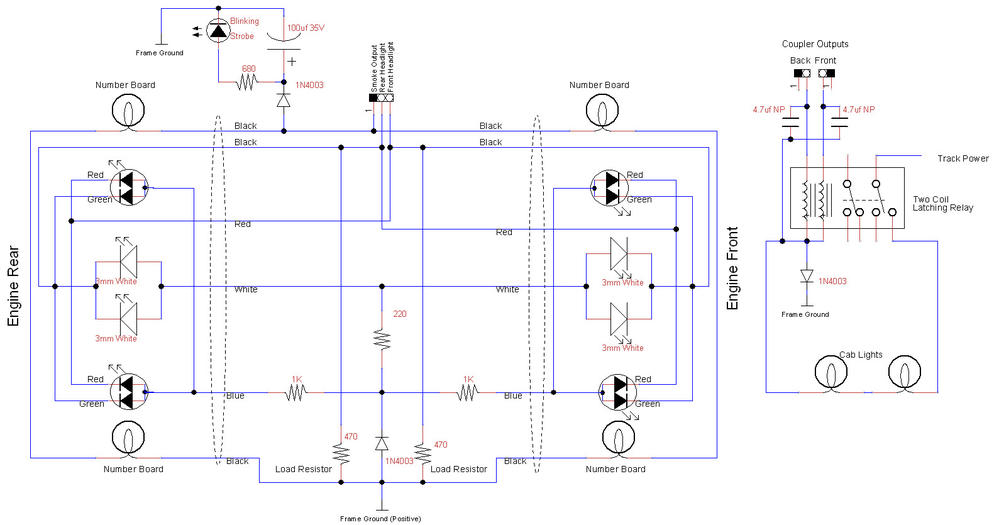 BEEP Locomotive Lighting Schematic uncoupler unloader wiring o gauge railroading on line forum lionel uncoupler wiring diagrams at nearapp.co