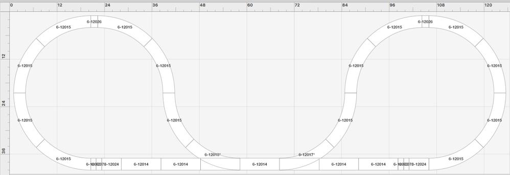 Fastrack 036 Reverse Loop Plan