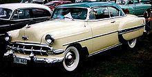 1954_Chevrolet_Bel_Air_2.-Door_HT 197 inches in length