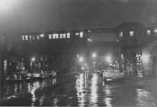 Neg# 3580-N to uptown side-Myrtle El Vanderbilt STA-9-1969