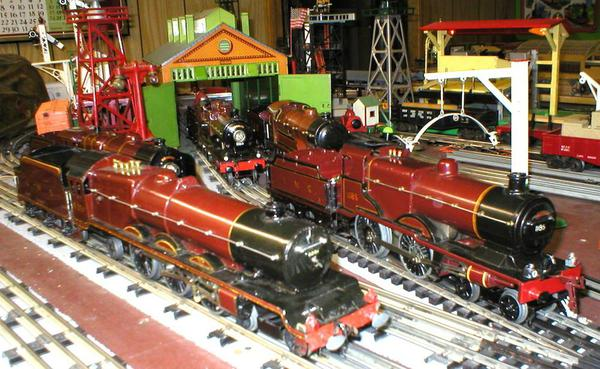 21B HORNBY PRINCESS ELIZABETH ON SHED
