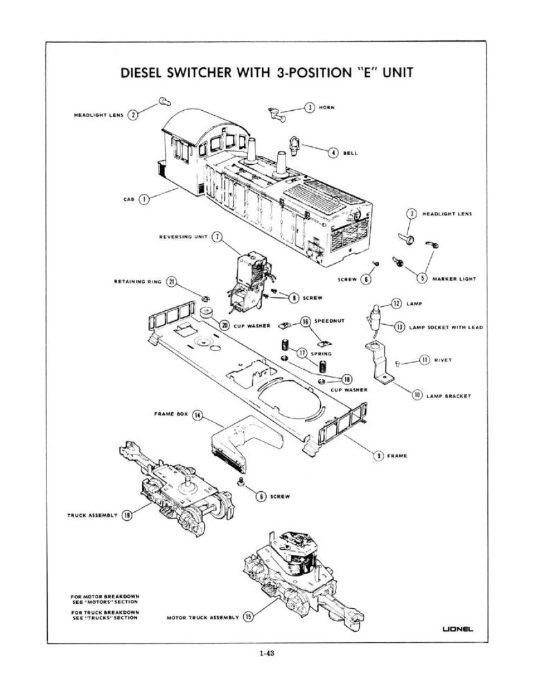 Lionel Diagrams And Parts List Need To Id Fix An Nw2 Switcher: Lionel Accessory Wire Diagram At Ultimateadsites.com