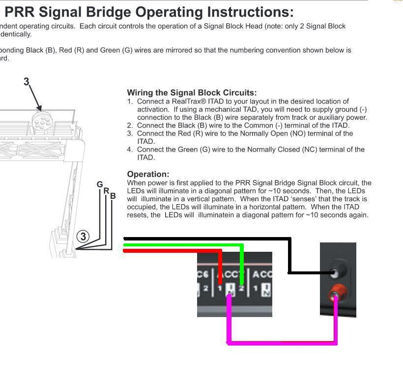 wiring mth aiu schematics wiring diagrams \u2022 egr wiring diagram mth signal bridge and aiu tiu o gauge railroading on line forum rh ogrforum ogaugerr com trans brake wiring mth aiu wiring