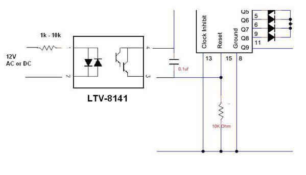 semaphore and 555 timer circuit