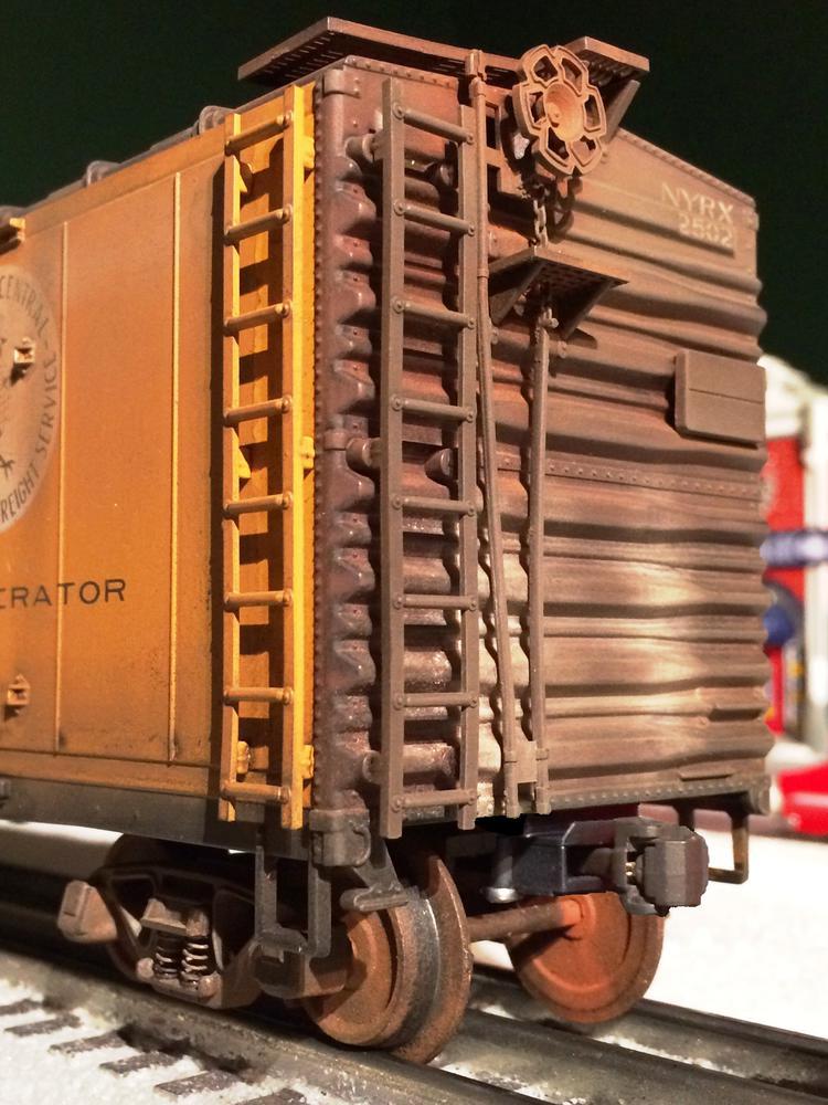 Atlas steel reefer Kadee install video | O Gauge Railroading On Line Forum