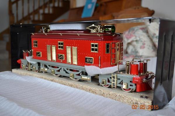 American Flyer Red Presidential Locomotive