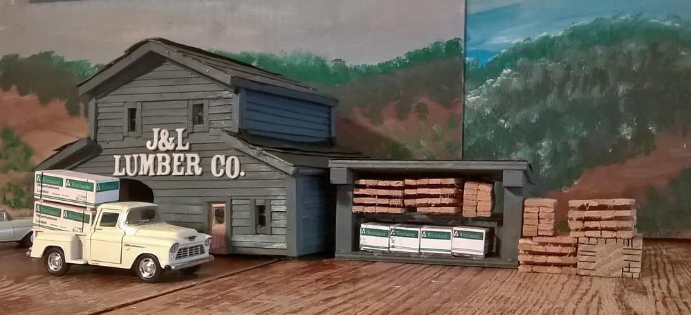 Lumber Yard O Gauge O Gauge Railroading On Line Forum