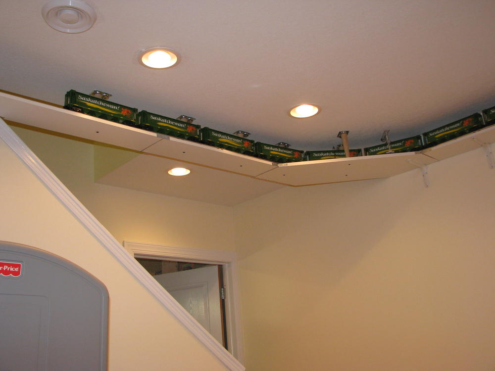 Ceiling Loop One Track Or Two O Gauge Railroading On