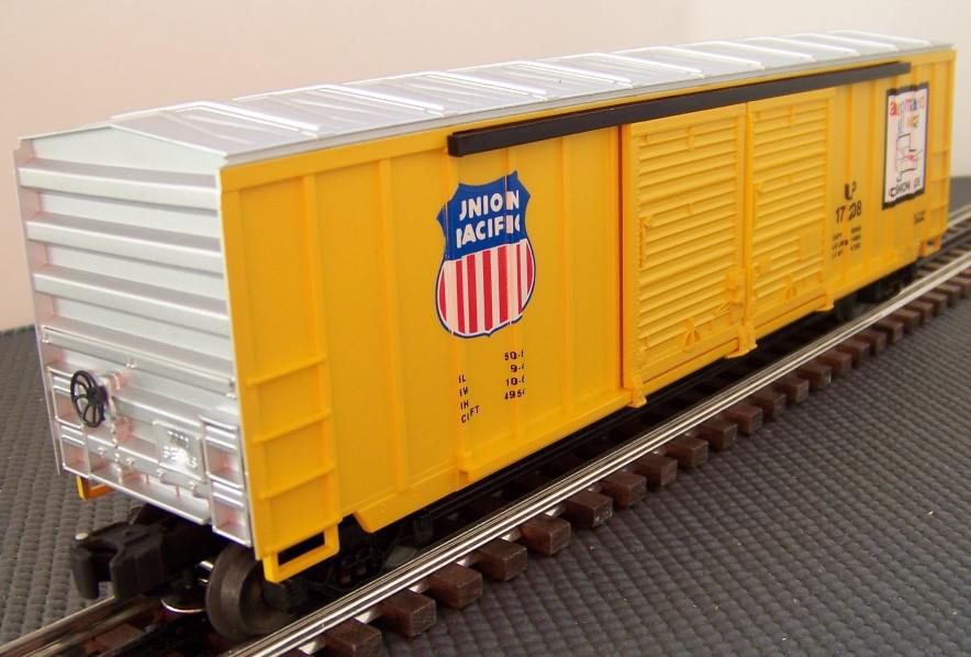 Reworking The Lionel 6 17208 Union Pacific 50 Ft Double