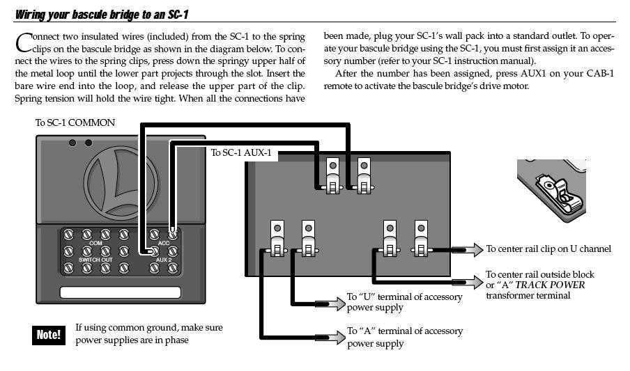 313 bascule bridge | o gauge railroading on line forum wired network diagram bridge wiring diagram bridge