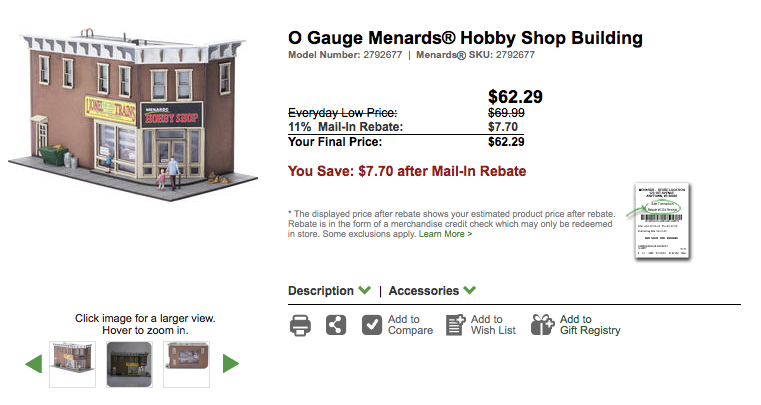 The Menards Hobby Shop is Here! Plus our Newest Flatcar Release! (03