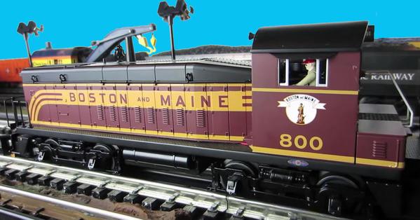 Boston & Maine Switcher RailKing 30 20119 1