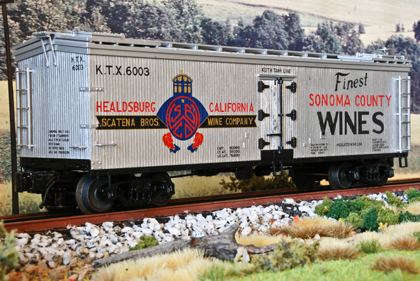 Atlas Scatena Bros Wine Company Woodsided Reefer