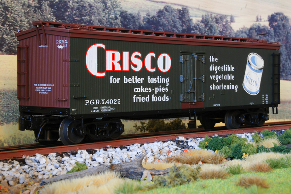 Atlas Crisco 40' Wood Reefer