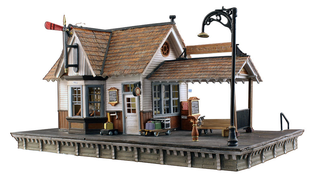 Accessories O Gauge Buildings : Br the depot o scale woodland scenics pre ordr at