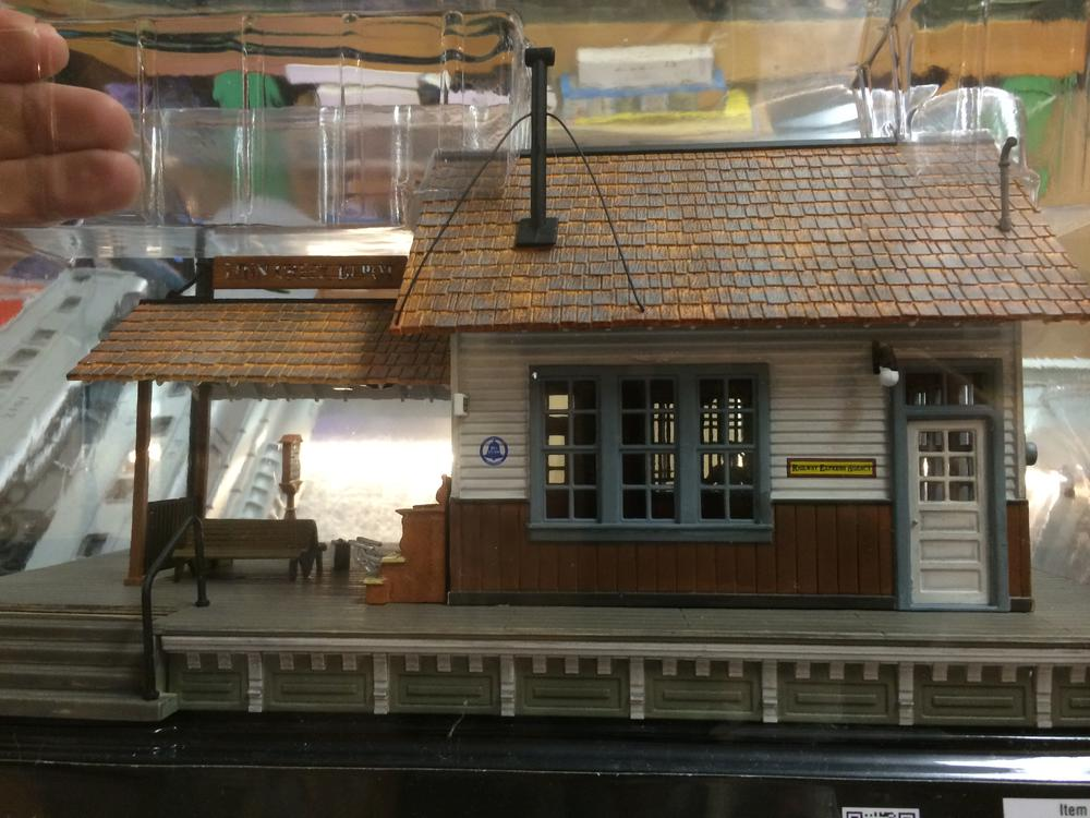Br5852 The Depot O Scale Woodland Scenics Pre Ordr At