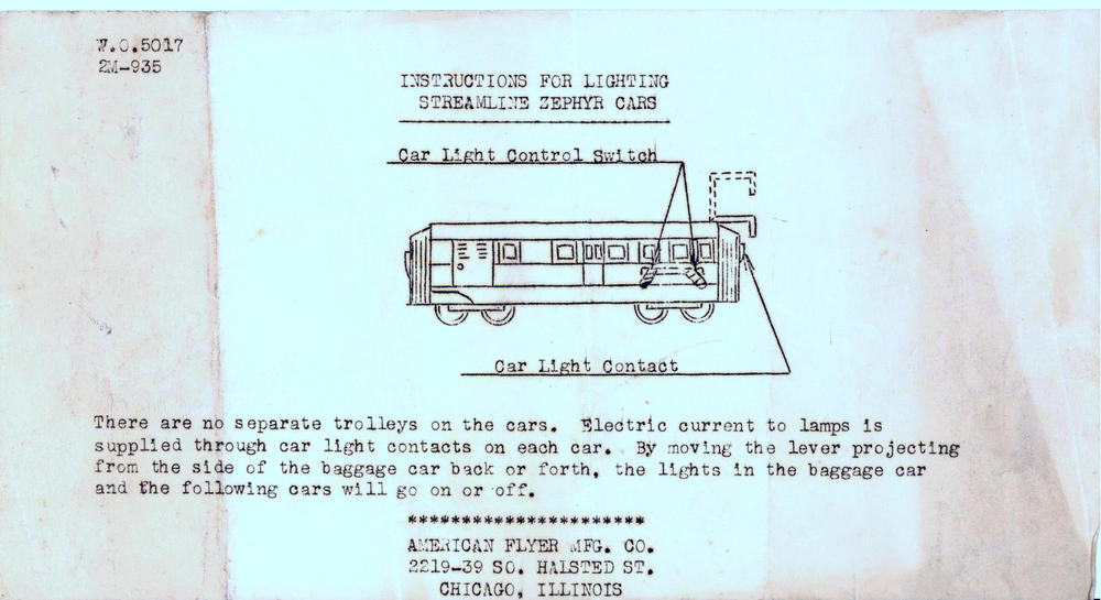 on american flyer 3187 wiring diagram
