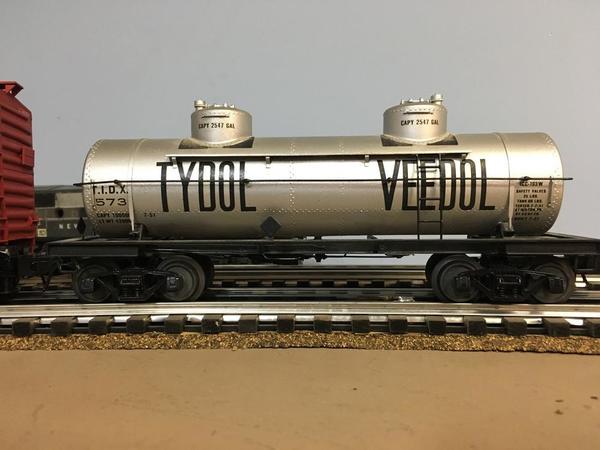 Tydol Veedol tank car