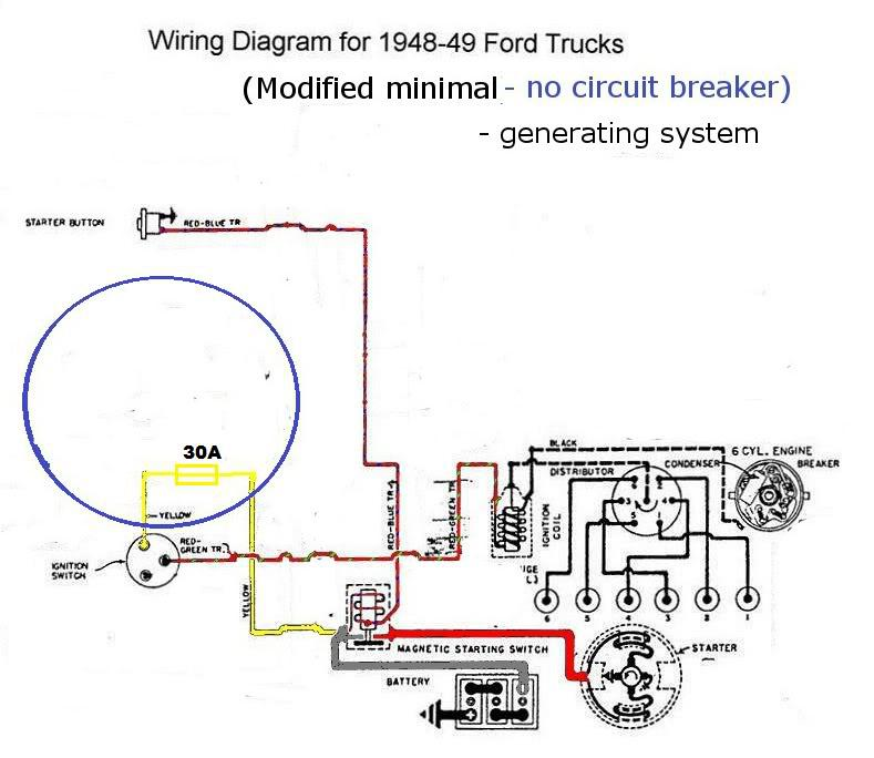 1948 ford truck wiring diagram ford wiring diagrams instructions rh appsxplora co Ford Truck Wiring Harness Ford Truck Wiring Diagrams