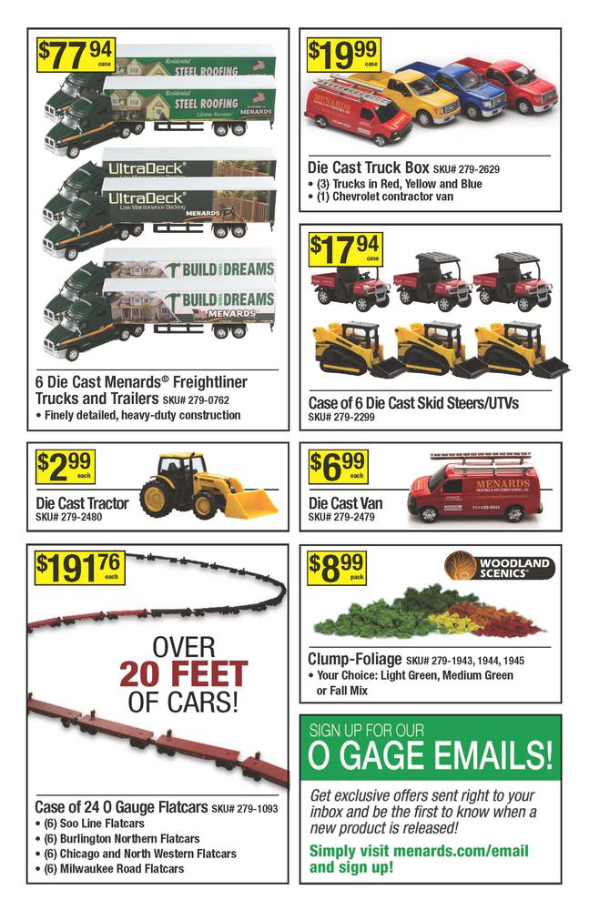The Catalog Menards includes all types of tools and goods for home improvement. Catalogue contains only the best deals for you. Visit the store Catalog and you'll find lots of best products for your home.