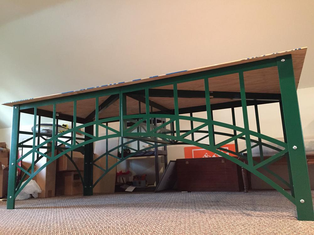 Getting off the carpet a 4 39 x8 39 block at a time o gauge for Table bridge