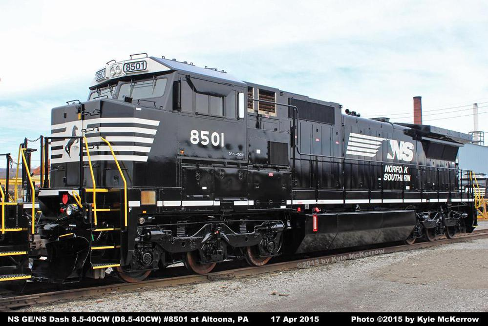 NS GE/NS Dash 8.5-40CW rebuild Pictures
