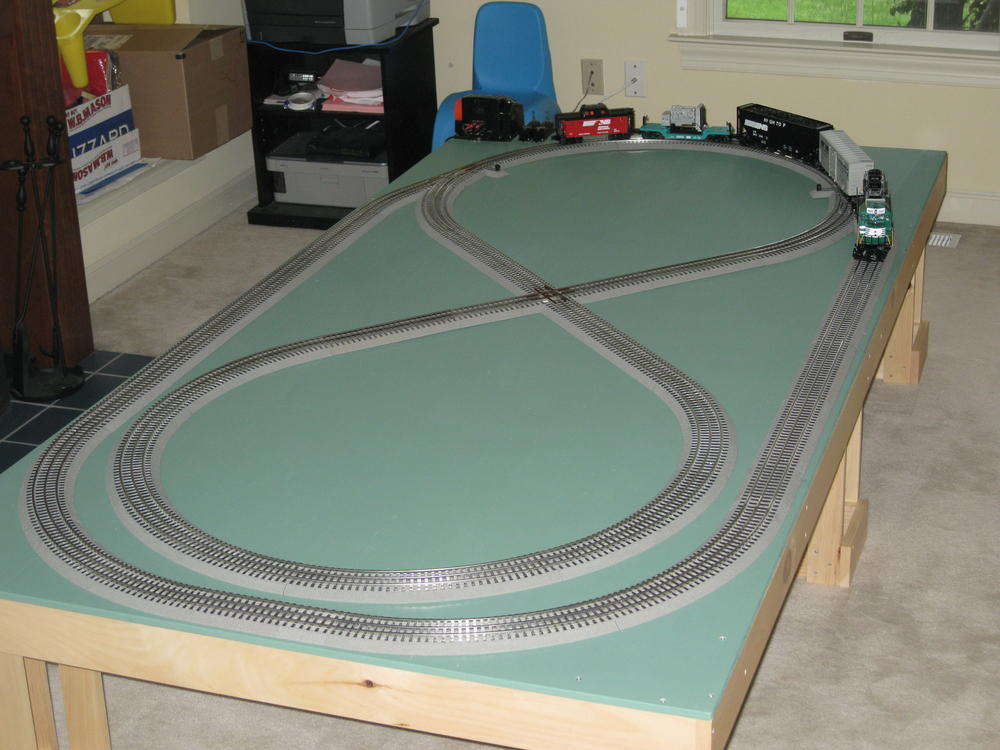 Help With Layout For Grandson O Gauge Railroading On