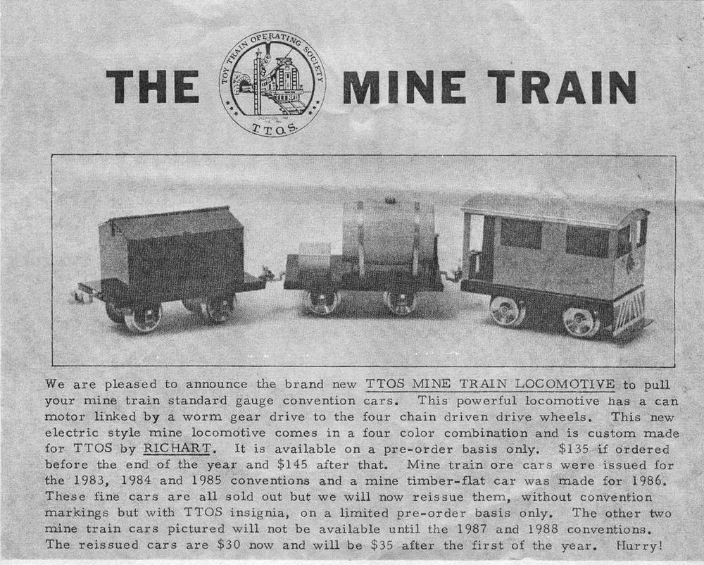 Richart Mine Train   O Gauge Railroading On Line Forum