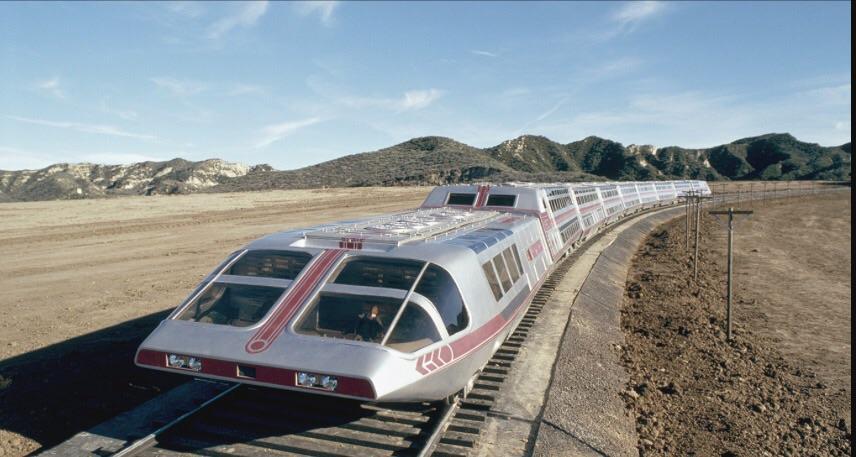Sci Fi Post Apoc Etc 3 30 Elevated Sci Fi Train Setup