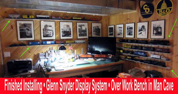 Glenn Snyder Shelfing Over Work Bench 2