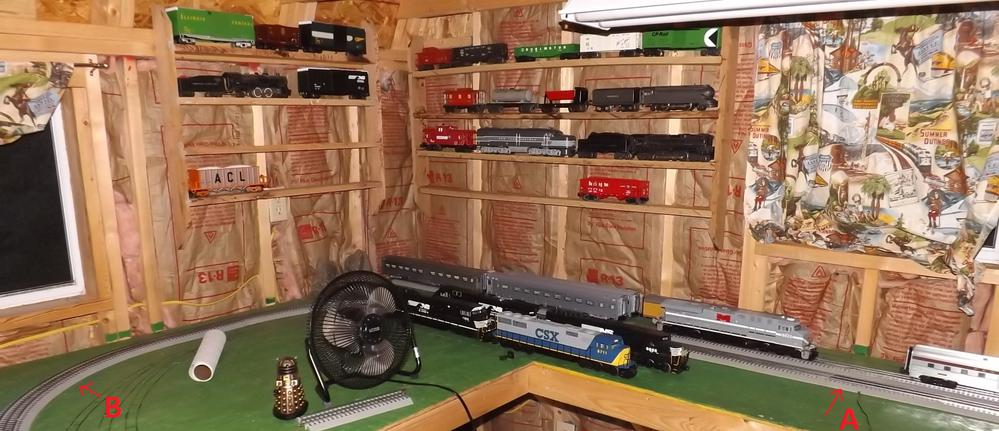 Feeder Wires from Lionel Fastrack to ZW – Lionel Track Wiring Lights On