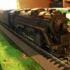 Train setup 004: Lione #2018 2-4-6 Prairie style steam engine