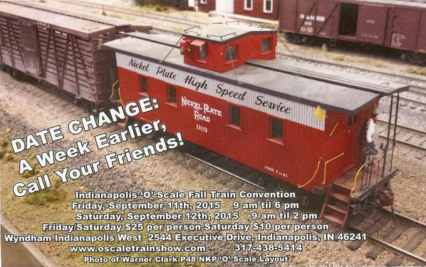O Scale Convention September 2015