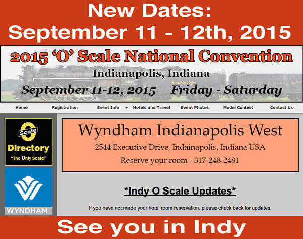 O Scale National Convention 2015