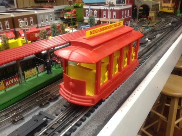 Mister Rogers Trolley O Gauge Railroading On Line Forum