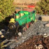 Judy: This is the first loco I completely redecorated.