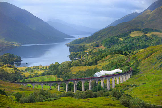 Glenfinnan train