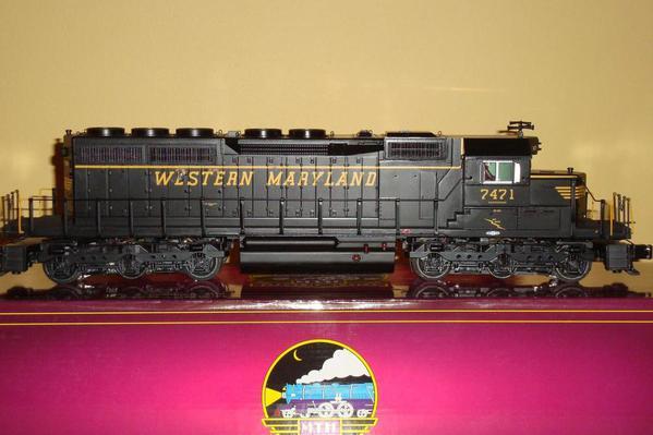 WM SD40-2