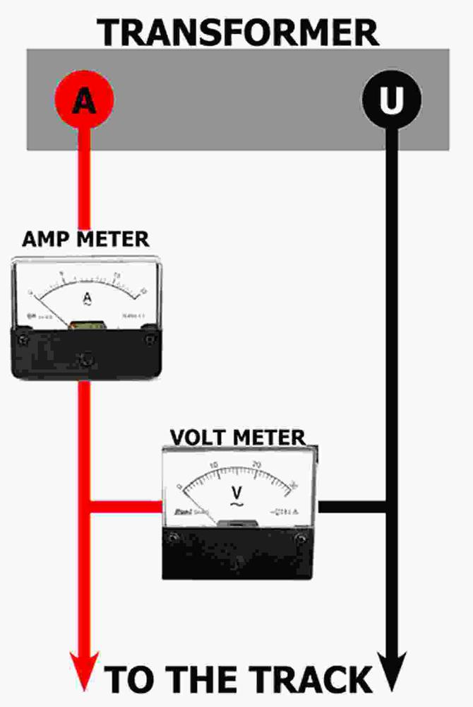 Voltage and Amp Meter voltage, amp, tvs and fast acting circuit breakers in a control ac amp meter wiring diagram at panicattacktreatment.co