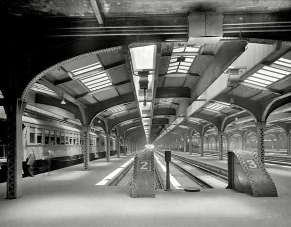 Chicago Station - 1911
