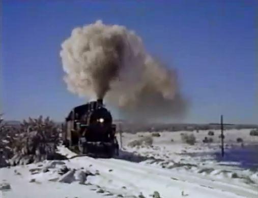 Snowy Train 2