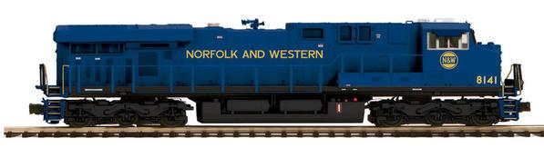 20-20276-1 MTH Norfolk and Western ES44AC Happy Birthday OGR